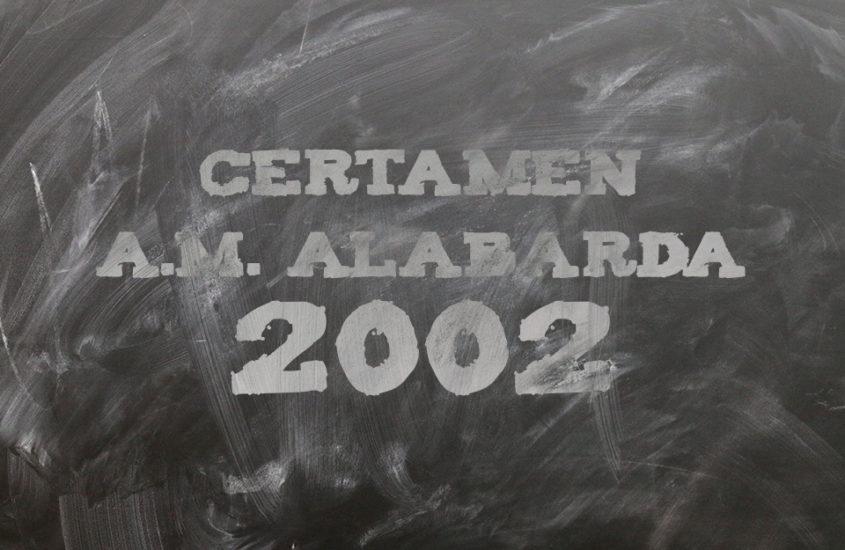 Certámen A.M. Alabarda 2002