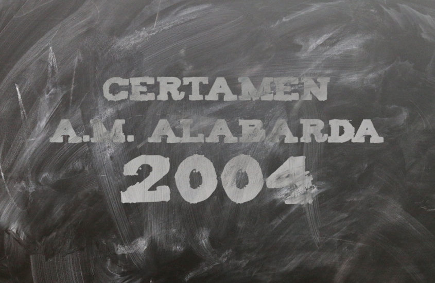 Certámen A.M. Alabarda 2004