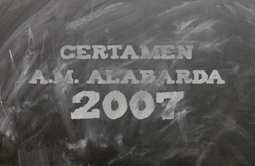 Certámen A.M. Alabarda 2007