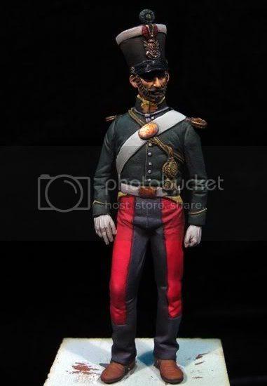 Lancero Isabelino 1835. Rgto. Vitoria nº4