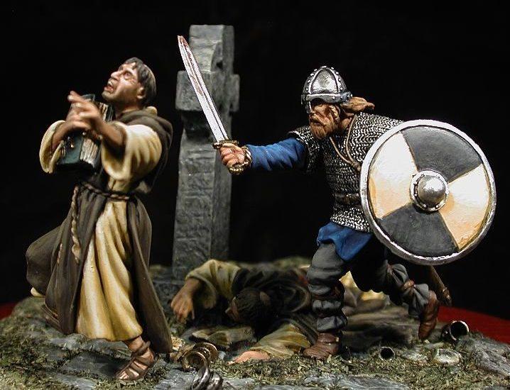 Raid vikingo. Glendalough, 853