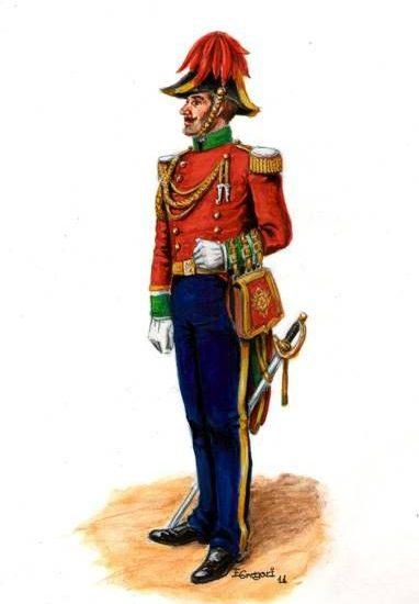 Ayudantes de campo (1860)