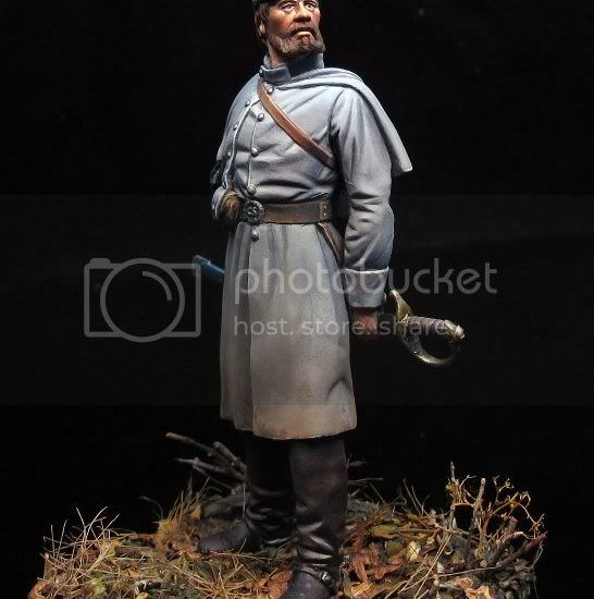Confederate Infantry Officer – CSA 1862