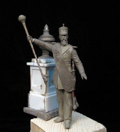Tambor Mayor. Infantería de Línea 1862 (I)