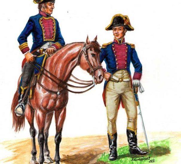 El Estado mayor de operaciones (1801)
