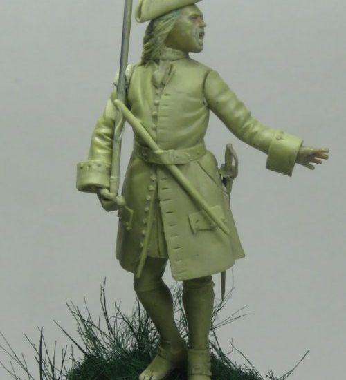 ¡¡¡Prietas las filas!!!. Sgto. Rgto. Murcia. Batalla de Almansa, 1707