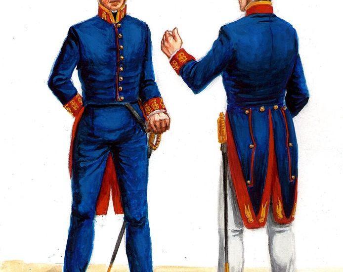 Empleados subalternos de Ingenieros (1840)