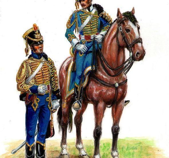 Ayudantes de Generales (1815)