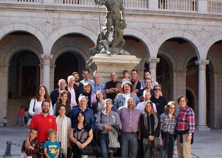 La visita de la Asociación Alabarda al Museo del Ejército