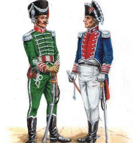 Uniforme de Generales y Coroneles sin mando de unidad en 1815