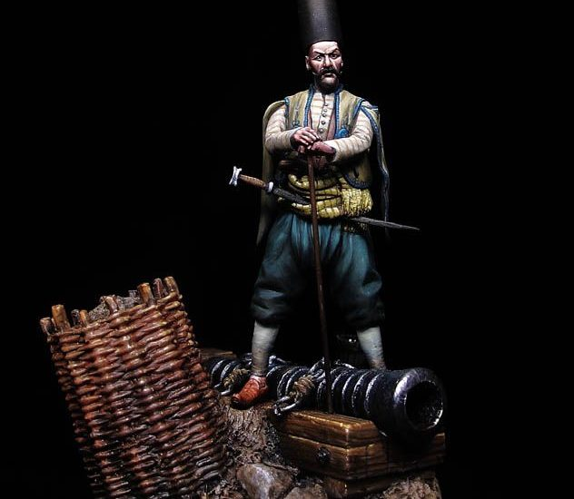 Oficial de bombarda otomano
