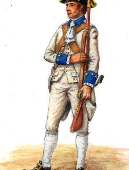 La Compañía fija de Infantería veterana de San Blas (1787-1797)