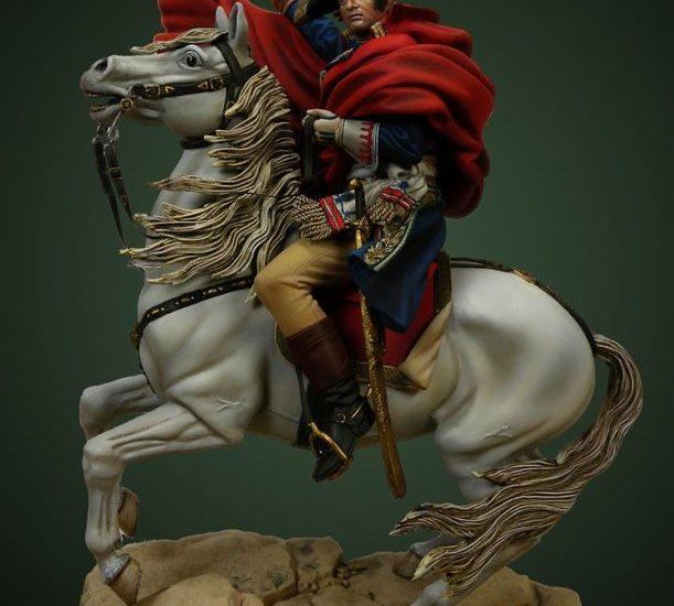 Bonaparte cruzando los Alpes