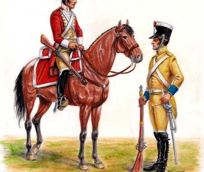 Reglamento provisional de Caballería. Caballería de Línea y Dragones (1814)