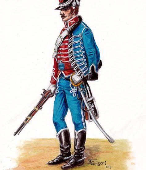 Reglamento provisional de Caballería de 1814