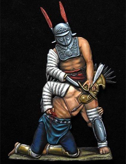 Gladiadores: Hoplomacus vs Provocator