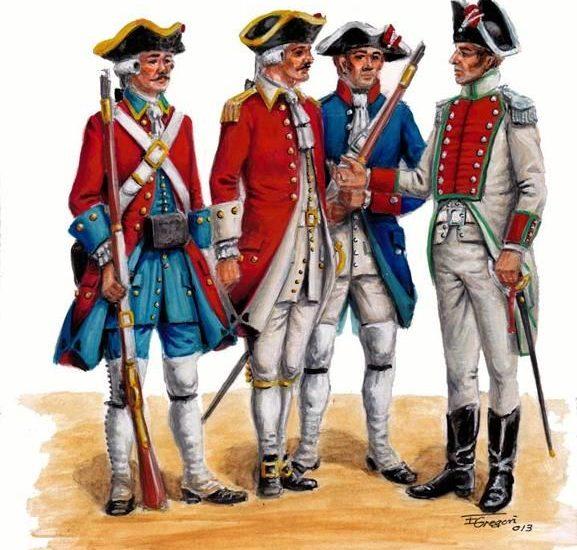 Batallón auxiliar de Santa Fe. Nuevo Reino de Granada. (1783 – 1815)