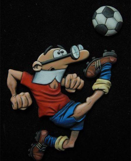 Mortadelo futbolero