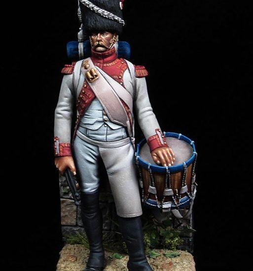 Tambour de grenadiers hollandais de la Garde 1812