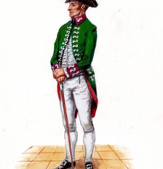 1803. El Estado mayor de Artillería