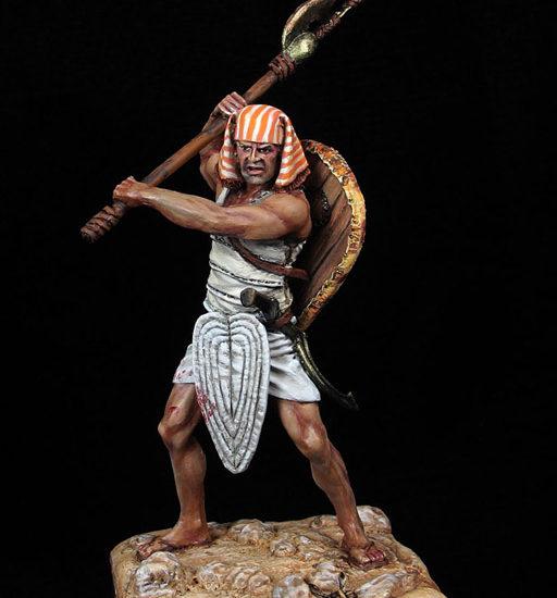 Guerrero egipcio de infantería