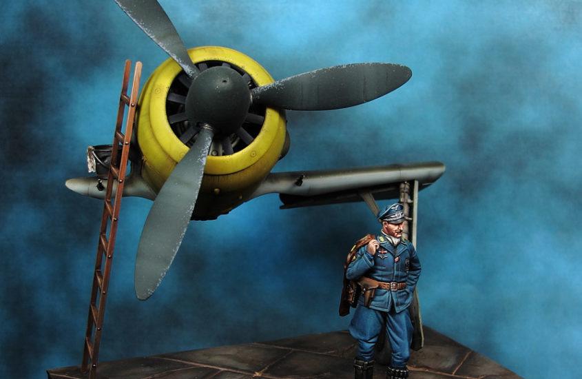 Piloto Escuadrilla Azul