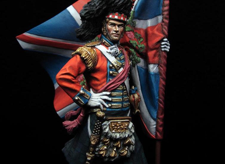 Pintando a Gulliver…(Highlander 42 Reg., Waterloo 1815)
