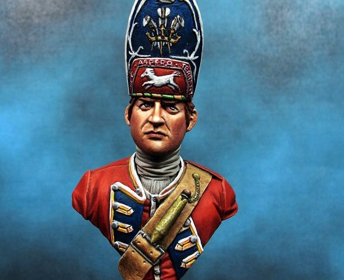 23rd Royal Welsh Regiment of Fusiliers (around 1752)