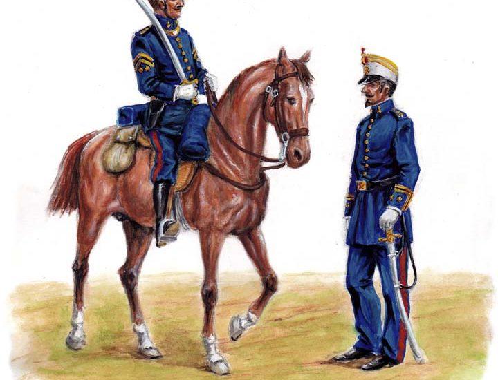 1863. La artillería