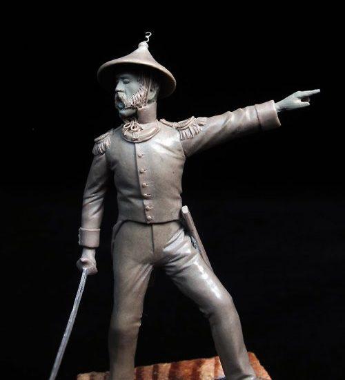 Capitán Infantería, Filipinas 1848