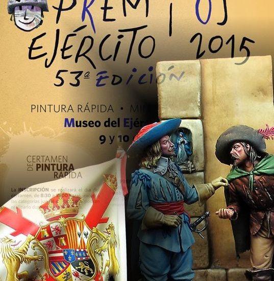 """Encuentro de Miniaturas Militares de """"Premios Ejército"""" – Toledo, 2015"""