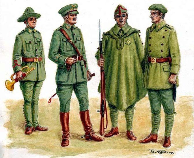 Actualización www.losejercitosdelrey.es – 1926. El uniforme único