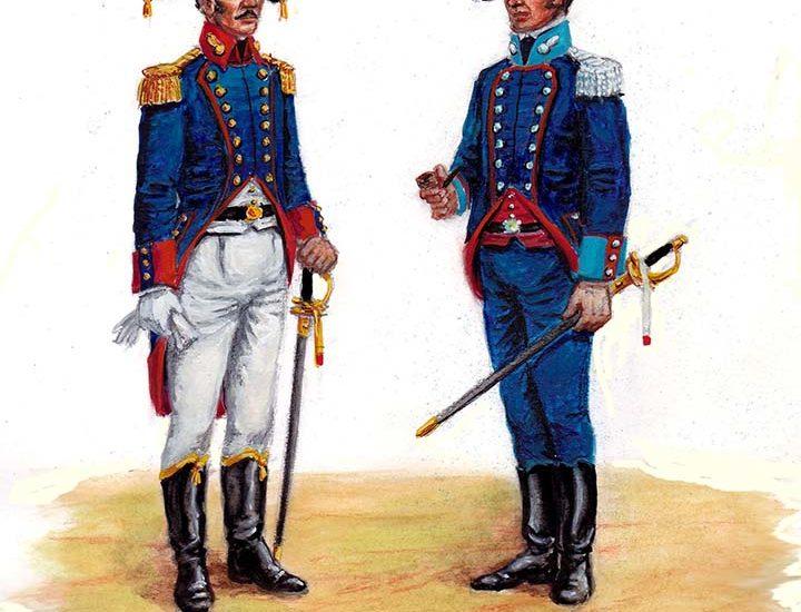 1817. El Real Cuerpo de Artillería