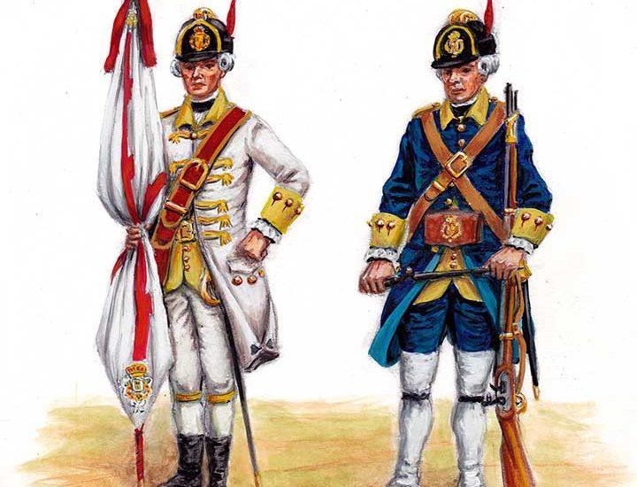 Actualización www.losejercitosdelrey.es – 1780. Regimiento fjo de La Habana