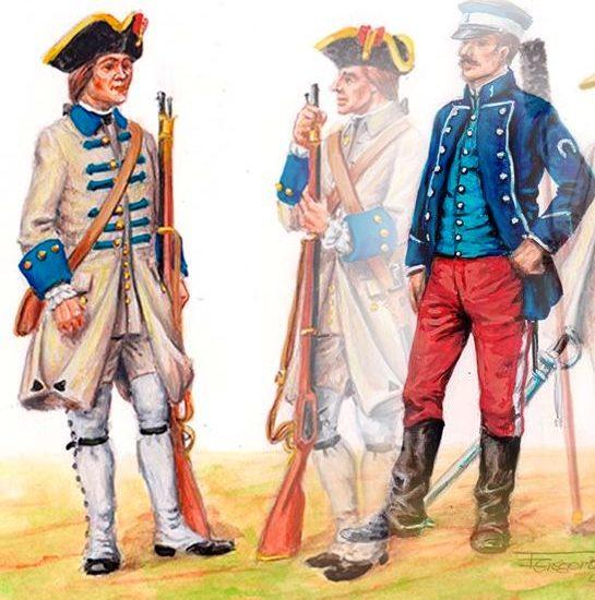 1856. El Cuerpo de Veterinaria Militar / 1766 La tropa veterana de La Habana