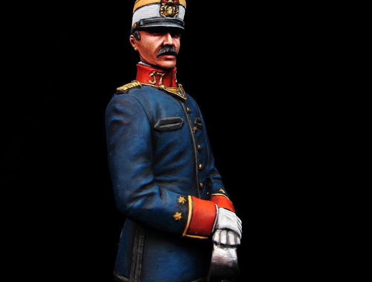 Oficial de Infantería – España 1909