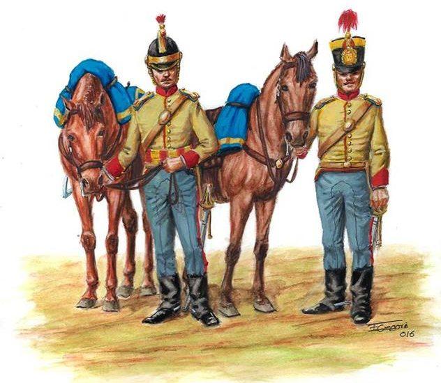 La caballería de Isabel II. 1839-1843
