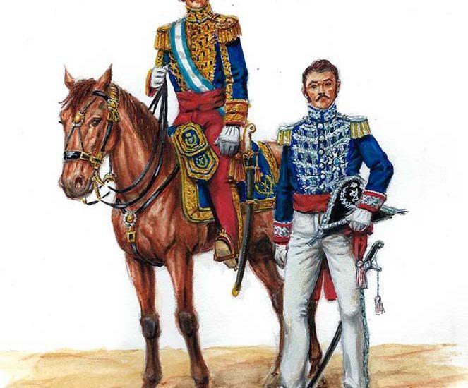 El uniforme de los Oficiales Generales (1840-1844) – Unidad Militar de Emergencias (UME)