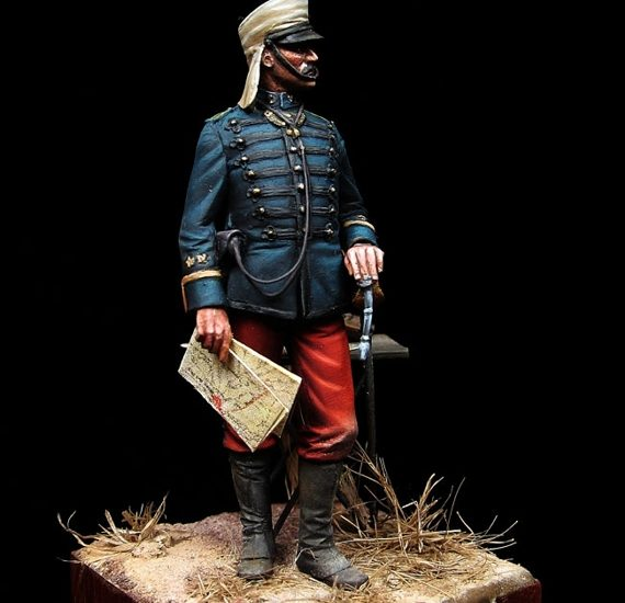Teniente de Infantería español. Maniobras 1895 (y II)