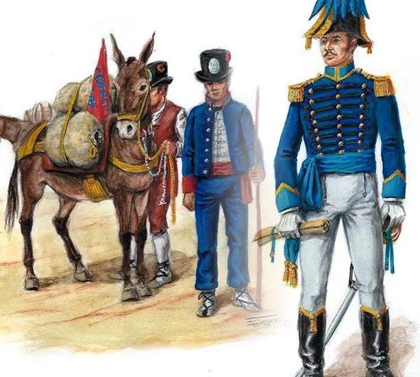 Las brigadas de acémilas (1813) – El Cuerpo de Estado Mayor (1810)