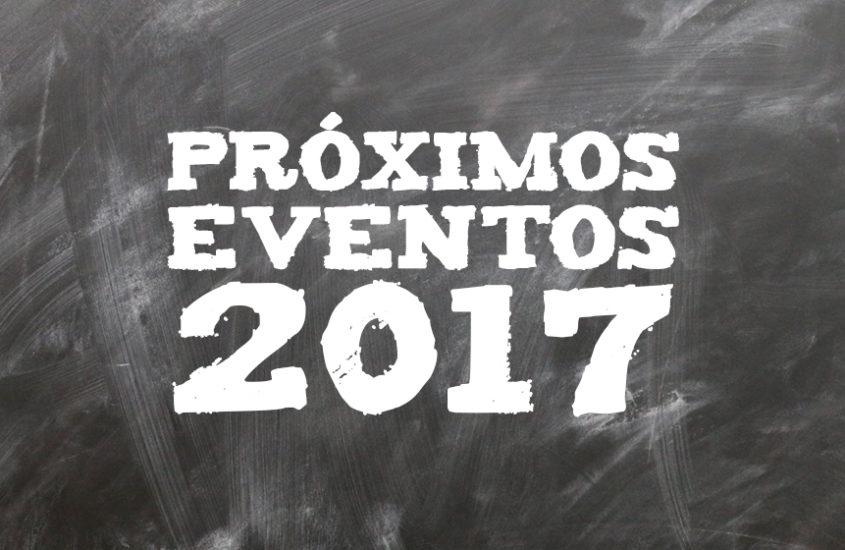 Próximos eventos 2017