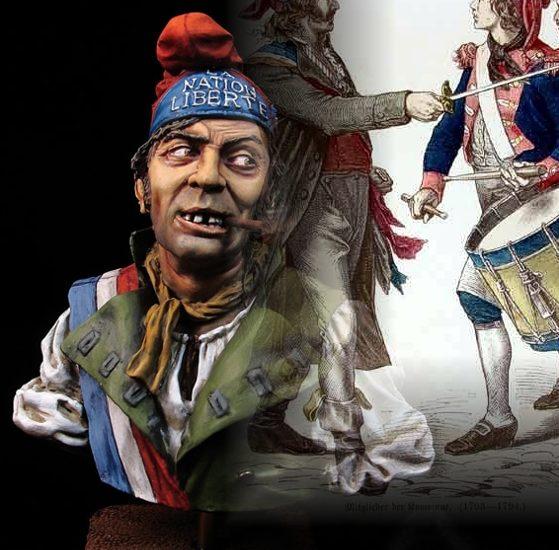 Sans Culotte / Gorro Frigio. Revolución Francesa, 1793