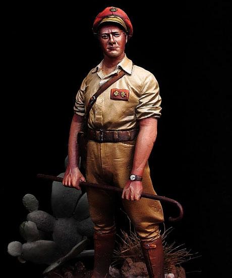 Teniente de Regulares Melilla nº 2.  Kudia Tahar 1925