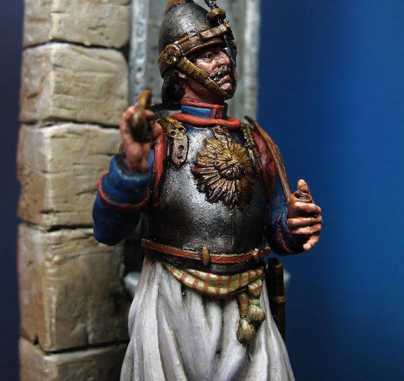 Oficial de Coraceros del Ejército Otomano