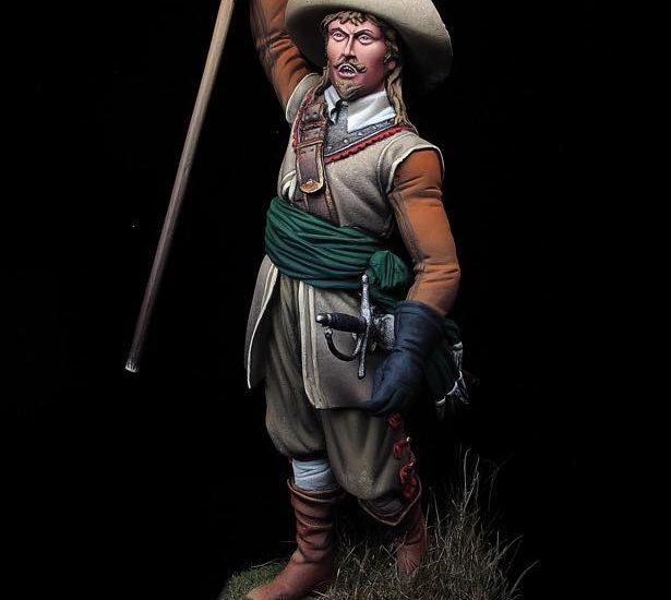 Oficial de Infantería. Guerra de los Treinta Años, 1638