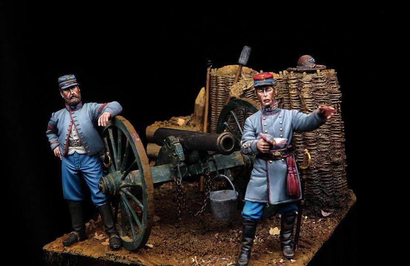 Artillería confederada