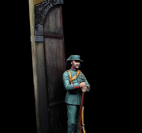 Guardia Civil. Uniforme de servicio. 1916