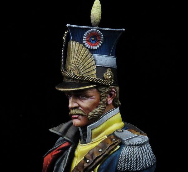 Oficial de Lanceros Francés – 1813