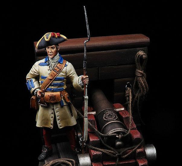 Fusilero de los batallones de infantería de Marina