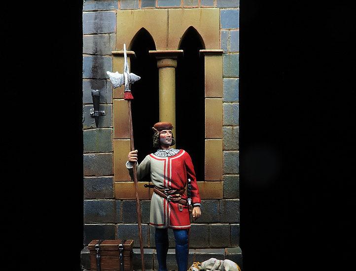 Alabardero de la Guardia de Fernando el Católico
